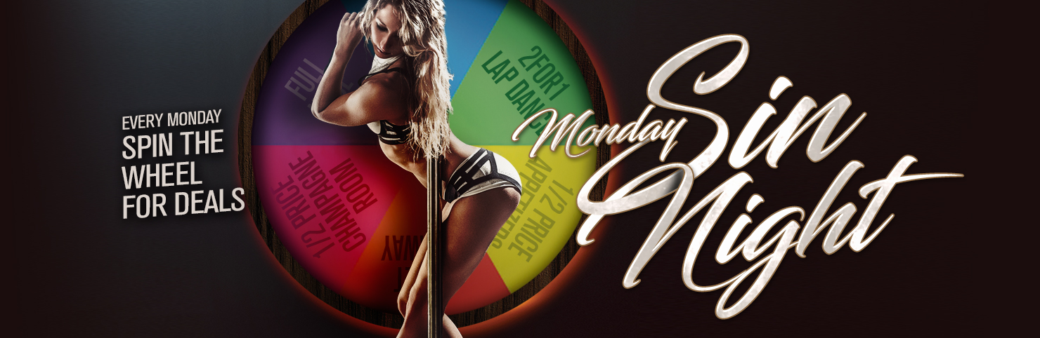 Monday Sin Night at Cheerleaders New Jersey