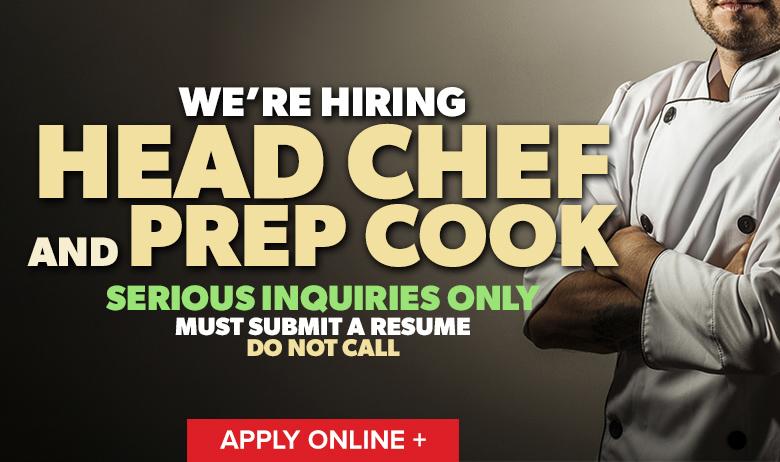 Hiring Chef (HPB)
