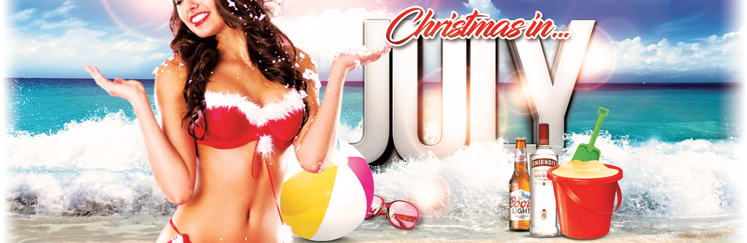 Christmas In July at Cheerleaders New Jersey