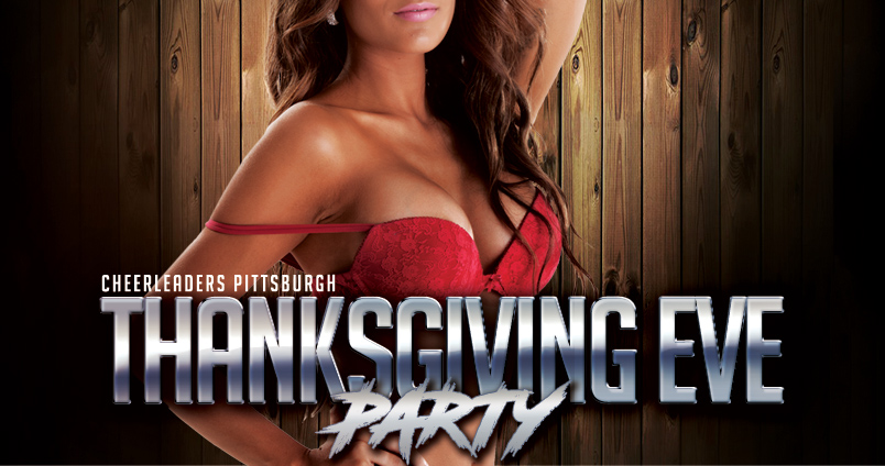 Thanksgiving Eve Party at Cheerleaders Club