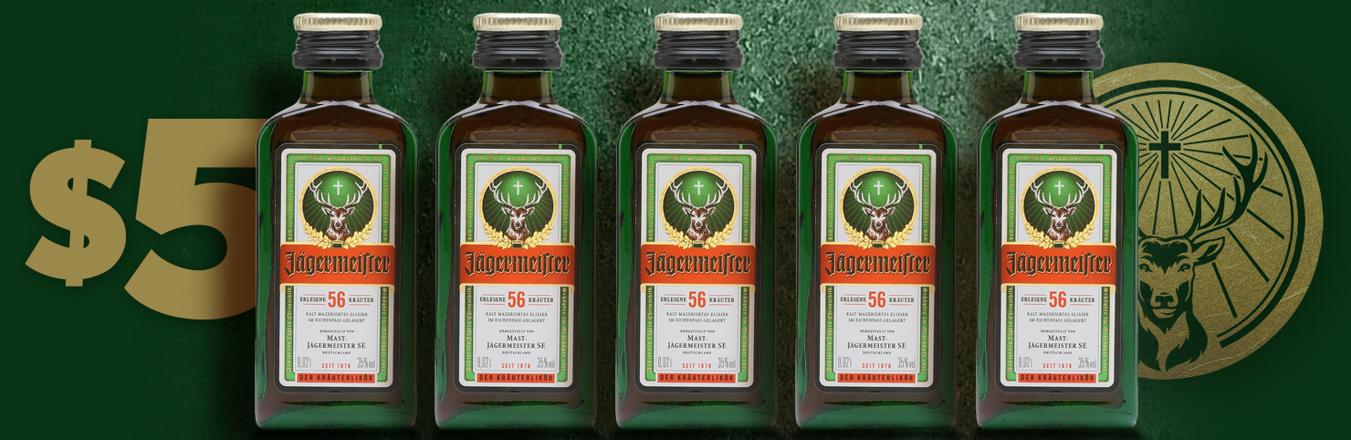 Jagermeister Mini at Cheerleaders New Jersey