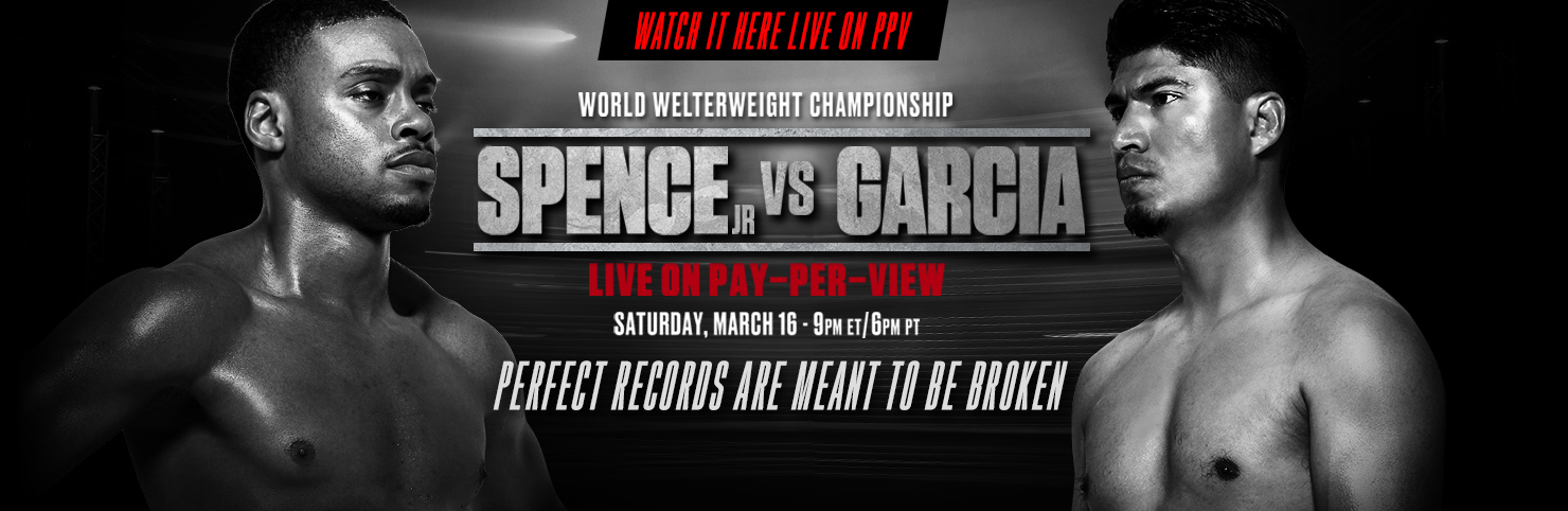 Spence Jr vs Garcia at Cheerleaders New Jersey
