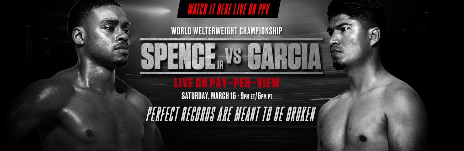 Spence Jr vs Garcia at Cheerleaders New Jersey