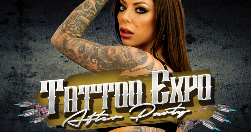 Tattoo Expo After Party at Cheerleaders Club