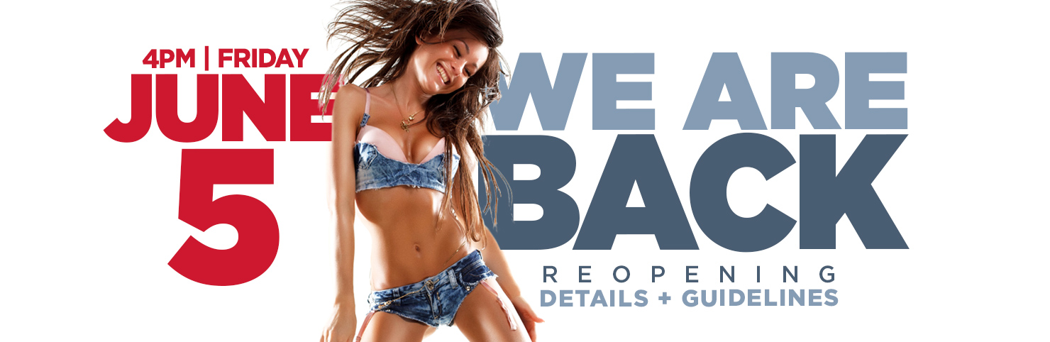 Reopening - June 5 at Cheerleaders New Jersey