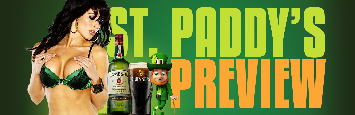 St Paddy's Preview at Cheerleaders New Jersey