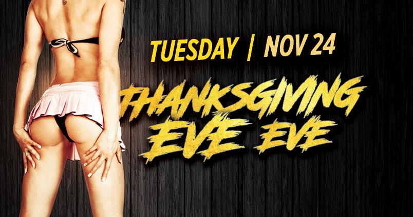 Thanksgiving Eve…Eve at Cheerleaders Club