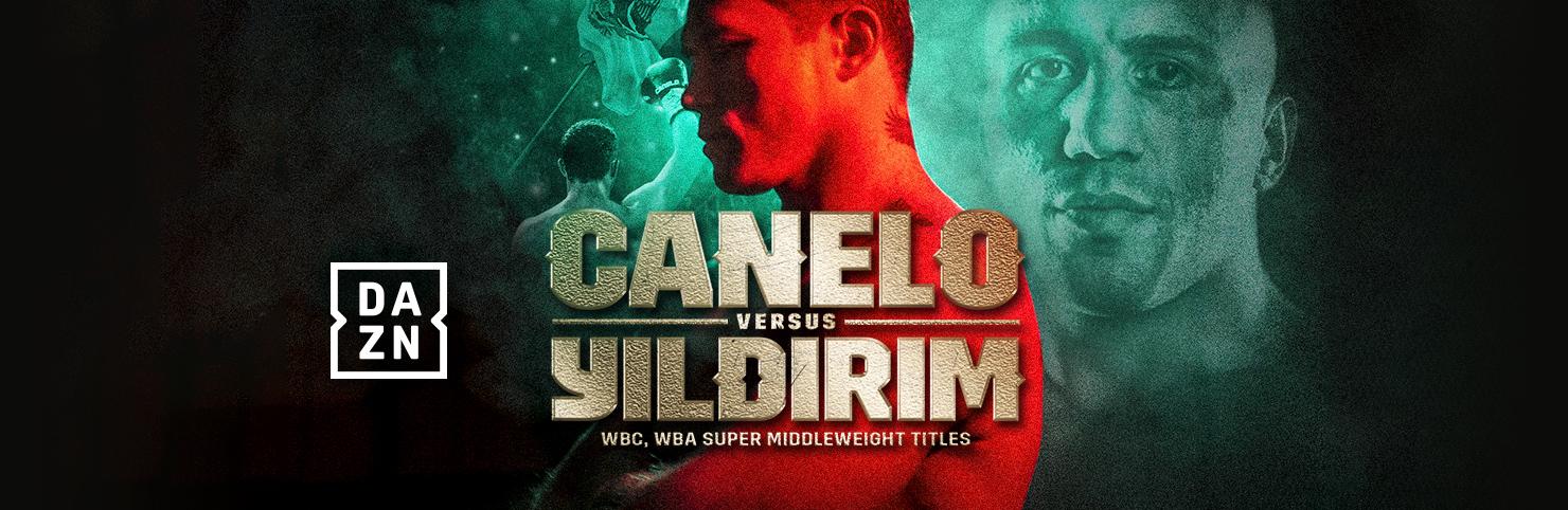 Canelo vs Yildirim at Cheerleaders New Jersey