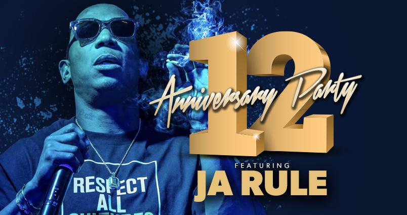 12th Anniversary with Ja Rule at Cheerleaders Club