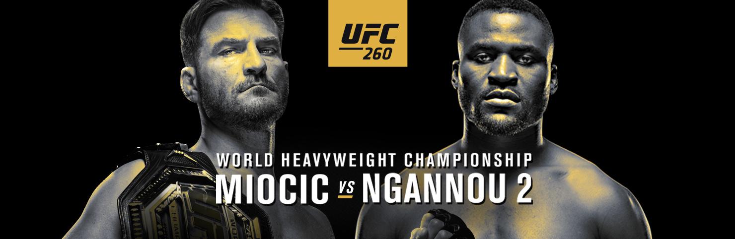 UFC 260 at Cheerleaders New Jersey